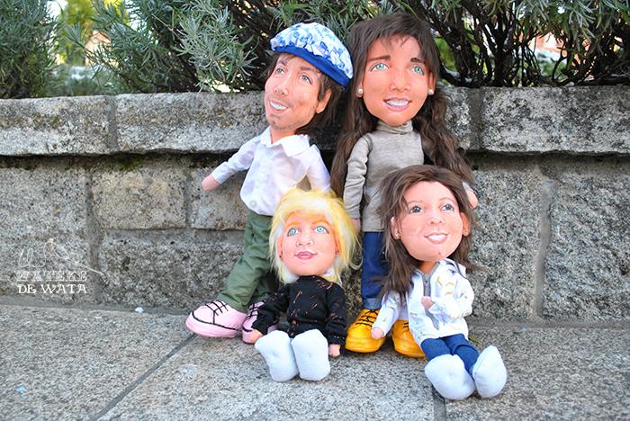 muñecos personalizados 3d boda y niñas