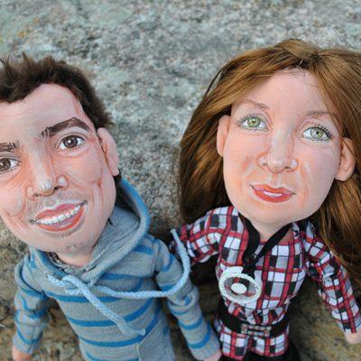 muñecos personalizados para regalar padres con tu cara figuras artesanales y únicas