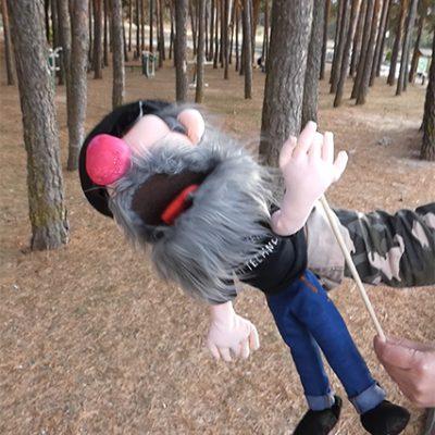 venta de marionetas personalizadas para obras teatrales artesanales