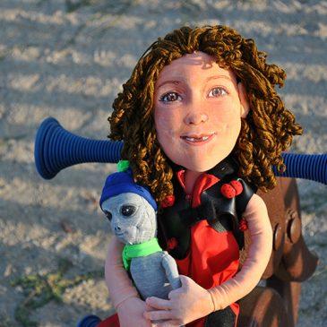 muñeca personalizada de trapo para niña con tu cara