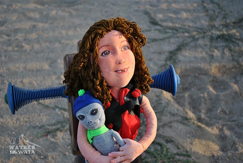 muñecas personalizadas de trapo hechas a mano para niñas