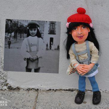 muñeca de trapo grande artesanal y personalizada a la venta