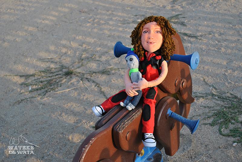 muñeca personalizada con la cara de tu hija hecha a mano de trapo barata