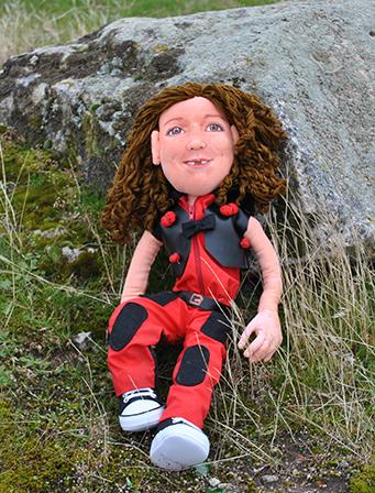 venta de muñecas personalizadas de trapo con tu cara a partir de fotos hechas a mano