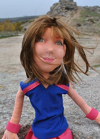 precio muñecas personalizada de trapo artesanales y únicas con tu cara hechas a mano
