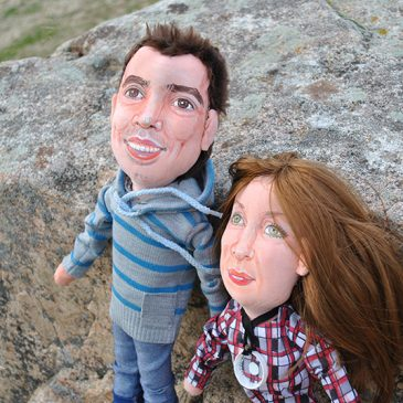 muñecos personalizados pareja novios