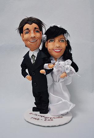 muñecos novios personalizados para tarta boda económicos con tu cara