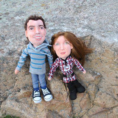 muñecos personalizados de pareja con tu cara baratos
