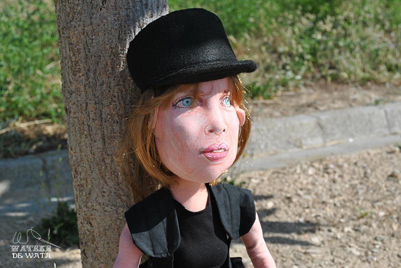 Sarah Connor Terminator action figure handmade fabric doll