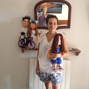 muñecos personalizados de trapo para bodas Madrid precio con tu foto