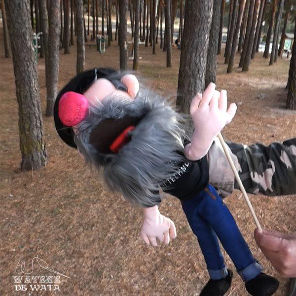 marionetas personalizadas de trapo hechas a mano