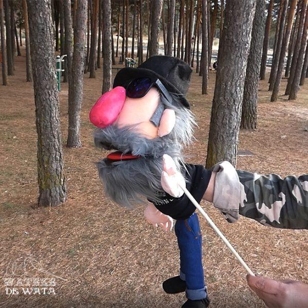 marionetas personalizadas artesanales de tela