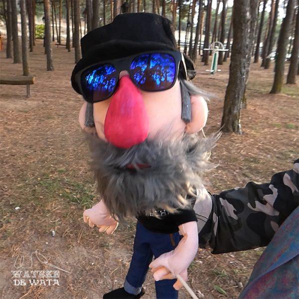 marionetas personalizadas por encargo de tela caricatura de personas