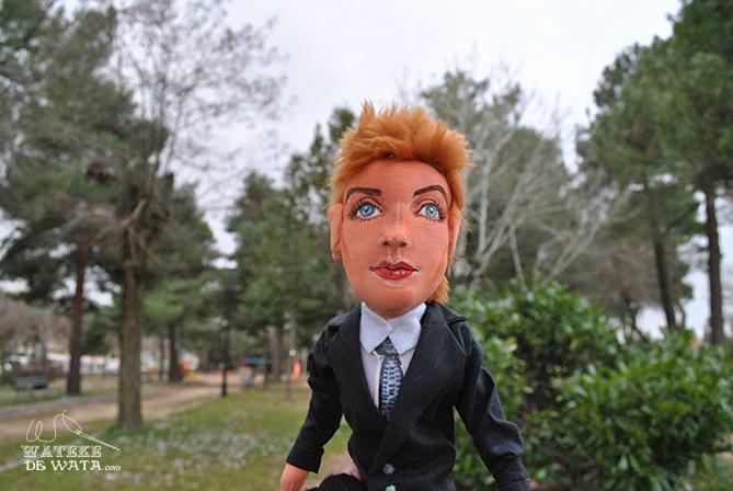 muñeca personalizada de la cantante inglesa Annie Lennox