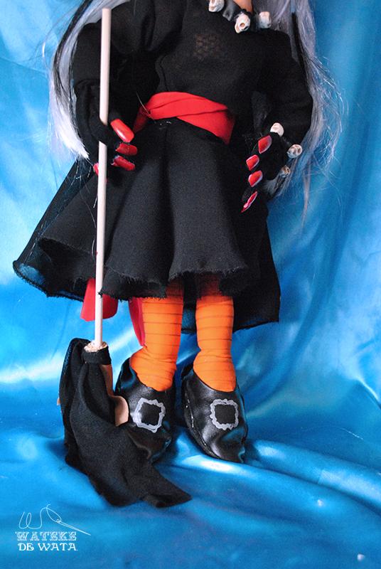 muñeca personalizada grande bruja de trapo