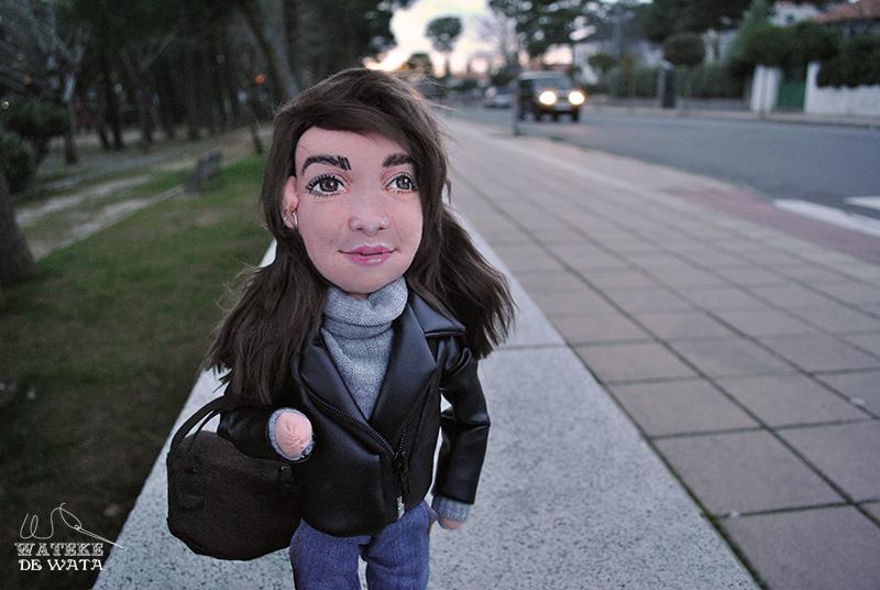 muñecos personalizados tela con tu cara de personas hechos a mano