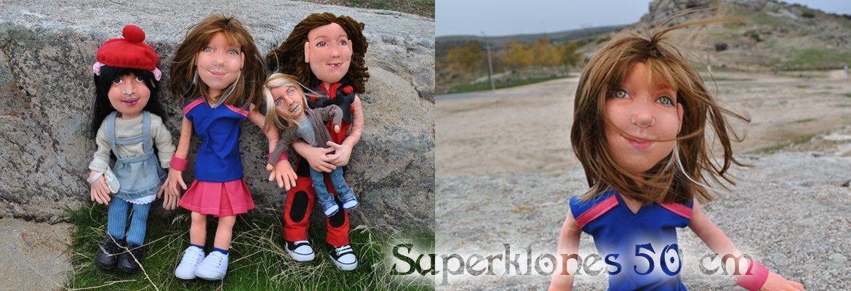 muñecas personalizadas con la cara de tu hija para regalar niñas madres con nombre y vestidas artesanales