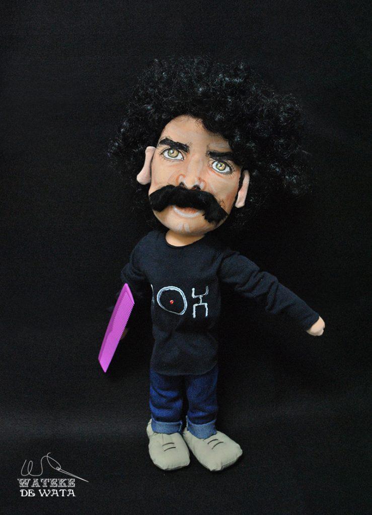 precio muñeco personalizado Richi Risco regalo artesanal único