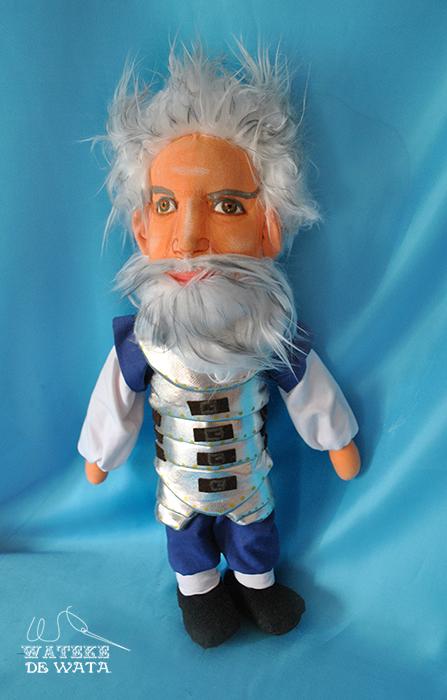 muñeco de trapo Don Quijote con tu cara artesanal precio