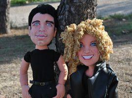 muñecos personalizados Grease mini yo de trapo
