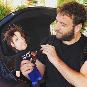 muñecos personalizados profesiones dj con tu cara Madrid precios baratos para regalar