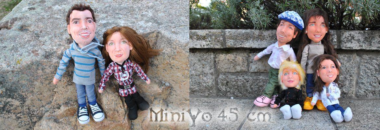 muñecos personalizados familia para regalar