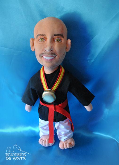 muñecos personalizados con tu foto y cara de trapo artesanales para regalar