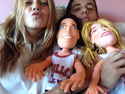 muñecos personalizados novios tu cara baratos a partir de fotos