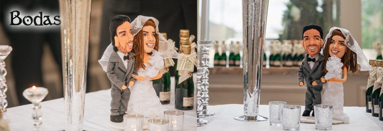muñecos personalizados boda novios para tarta baratos Madrid Barcelona