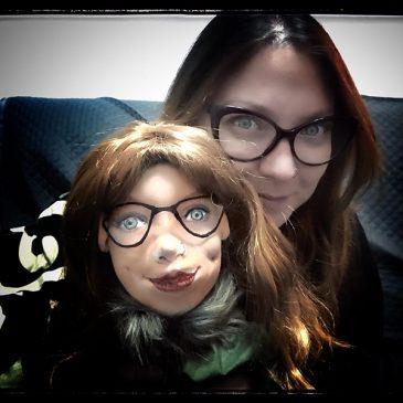 muñeca personalizada con la cara de tu hija hecha a mano con nombre a partir de foto