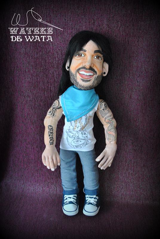 muñeco personalizado Melendi articulado