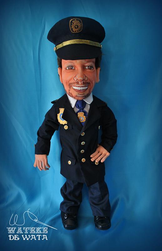 muñeco personalizado de profesiones a partir de fotos