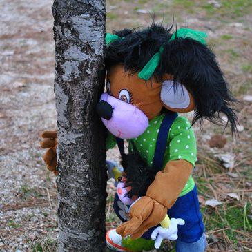 muñecas de trapo personalizadas de mascotas Pelitos y Peloncho para niños