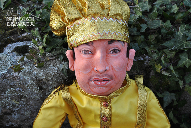 muñeco personalizado con tu cara para regalar día del padre