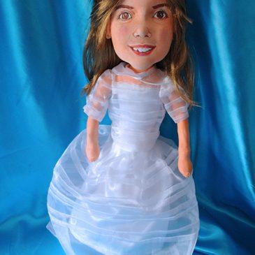 figuras 30 para regalar, muñecas comunión hechas a mano