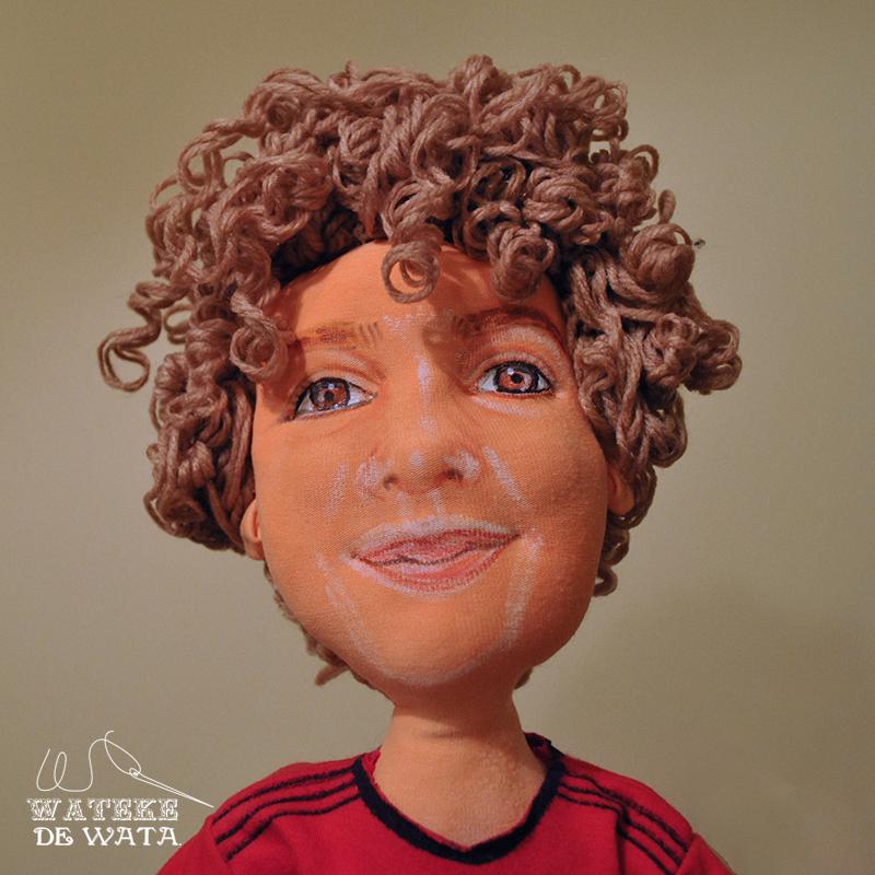 muñecos de tela personalizados Mexico España hechos a mano con tu cara