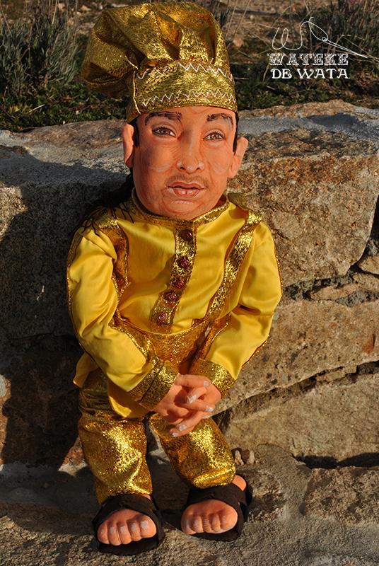 muñeco Oshun personalizada con tu cara a partur de fotos