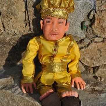muñeco Oshun personalizado con tu cara, realista, figura articulada hecha a mano