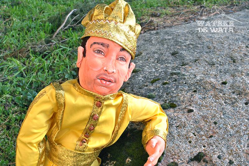 muñeco personalizado Oshun con tu cara. Peluches de personas para regalar
