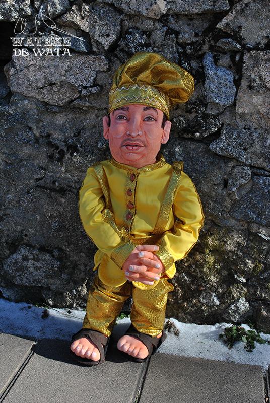 muñeco Oshun personalizado de trapo. Figuras con tu foto para regalar padre