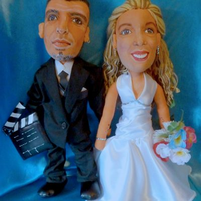 muñecos personalizados para bodas baratos, figuras de profesiones, hechos a mano