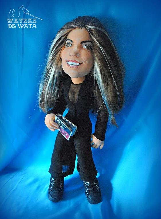 muñecas personalizadas con tu cara y vestidas, hechas a mano de trapo, precios baratos
