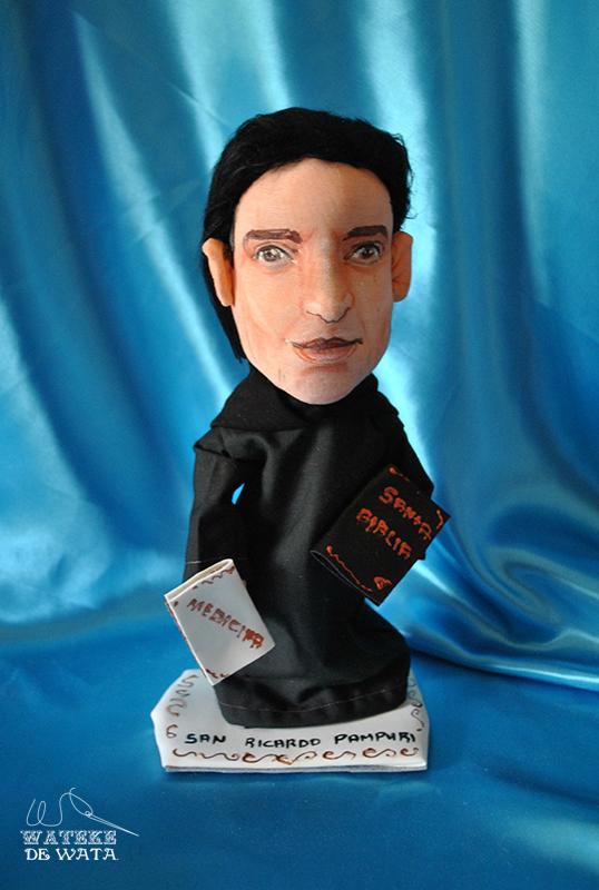figuras personalizadas hechas a mano de santos y religiosas