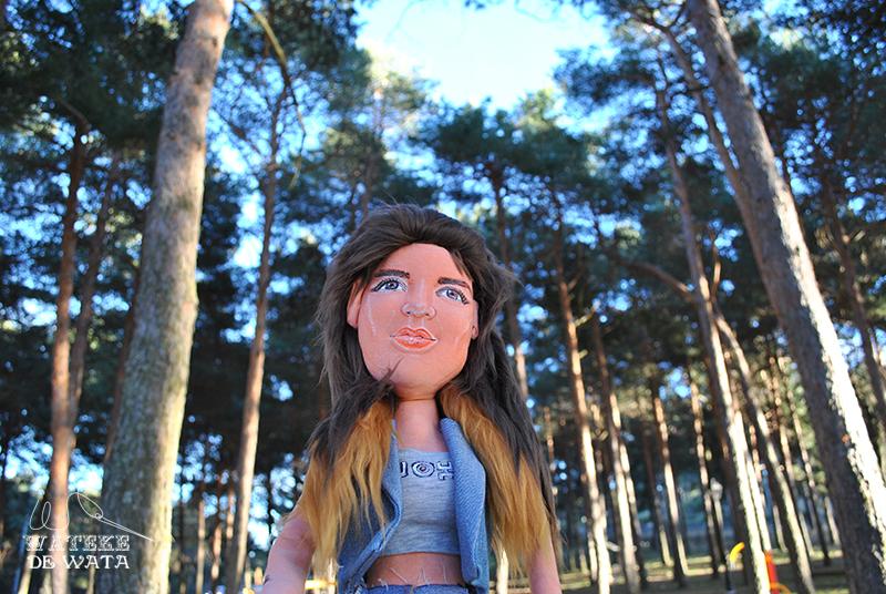 muñecas personalizadas hechas a mano de trapo para regalar