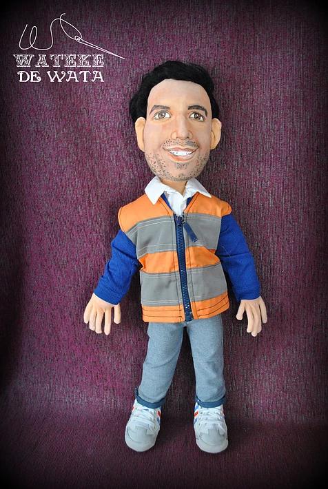 muñecos retrato personalizados para regalar, día del padre