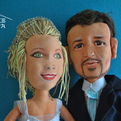 venta de muñecos personalizados boda
