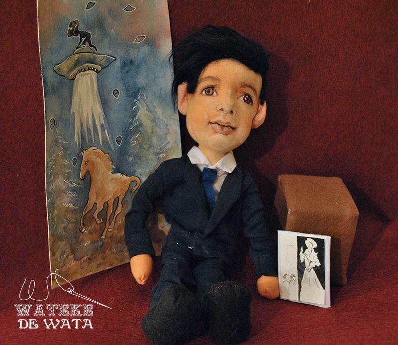 muñecos personalizados para niños, con tu cara y vestidos de uniforme