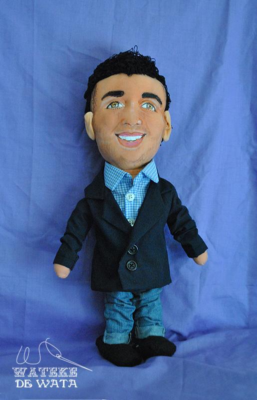 muñecos personalizados hechos a mano con tu cara