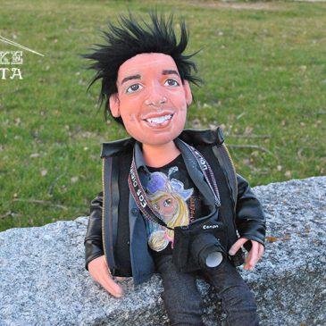 muñecos personalizados, hechos a mano