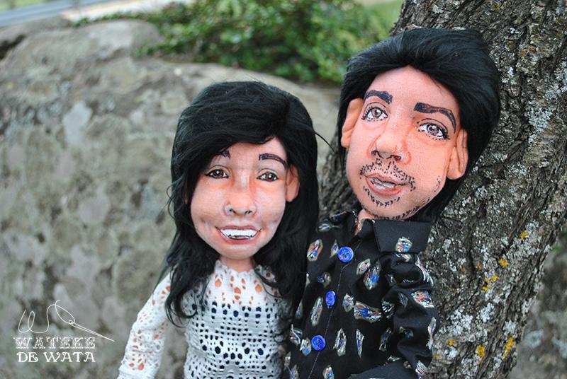 muñecos personalizados con tu foto para bodas